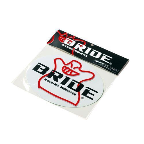 BRIDE楕円ステッカー