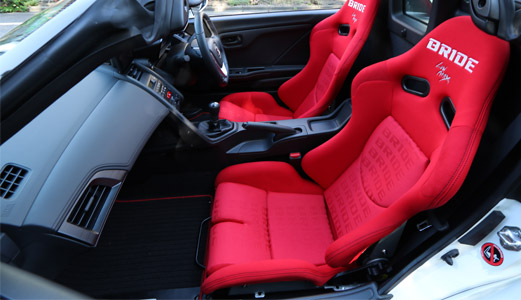 BRIDE's Sport Seats lineup for every type of driver